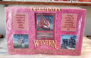 1990s Wyvern Dragon Slayer Booster 36 Pack Box Trading Cards