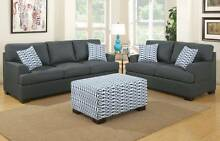 Brand New Linen Look Two and Three Seat Sofa with FREE CUSHIONS Bayswater Bayswater Area Preview