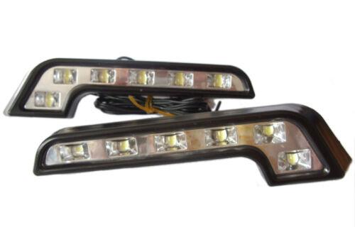 L Shape DRL High Power LED Lights Lighting Lamp Part Lexus Is 200 Ls 400 430 Gs