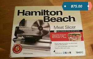 Meat slicer- New in box