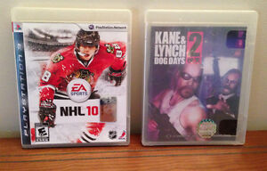 NHL 10 and Kane&Lynch Dog Days 2