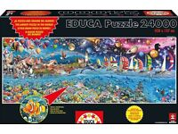 Educa Jigsaw Puzzle 24,000 Piece - Life The Great Challenge