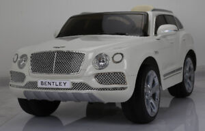 Licensed 12V Bentley Bentayga Child Ride-On Remote Leather Seat