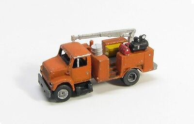 """Z Scale """"I"""" Class Equipment Service Truck Kit by Showcase Miniatures (4030)"""