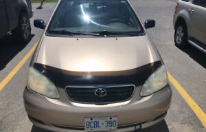 2006 TOYOTA COROLLA CE, 45K ONLY, AUTOMATIC / CERTIFIED