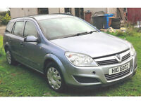 VAUXHALL ASTRA - 2009 - SILVER - DIESEL -RECENTLY SERVICED PRICED TO SELL