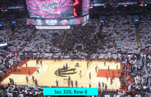 #=Raptors Season Tickets.Every game 2018-2019 Season.Section 310