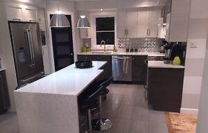 Comptoir de quartz Caesarstone Silestone Saint-Hyacinthe Québec image 4