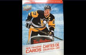 Cartes de hockey Tim Hortons 2016-17