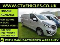 2016 16 plate Vauxhall Vivaro 1.6CDTi Sportive 2900 LWB L2H1 L2 A/C SILVER van