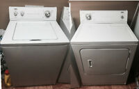 Good washer and dryer need a new home after September 17.