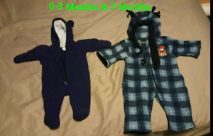 Baby Boys snow suits