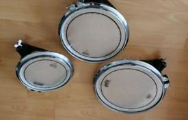 "Arbiter flats drum 10""12""14 Tom's /Yamaha /pearl /Mapex"