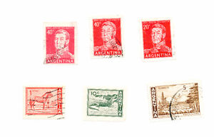 Stamps Argentina
