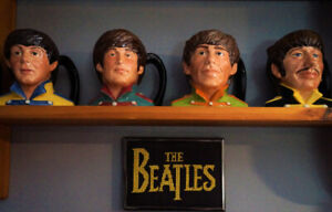 THE BEATLES TOBY MUGS HAND MADE