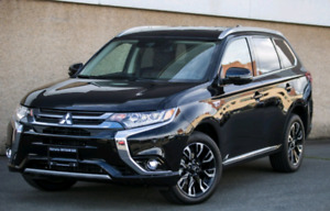 2018 Mitsubishi Outlander PHEV (plugin hybrid electric vehicle)