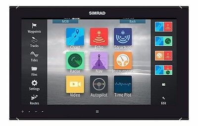 "Simrad MO19-T 19"" Widescreen High Bright, Multi-Touch Monitor 000-11262-001 NEW"