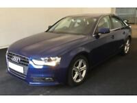 2013 BLUE AUDI A4 2.0 TDI 136 SE TECHNIK DIESEL SALOON CAR FINANCE FR £33 PW