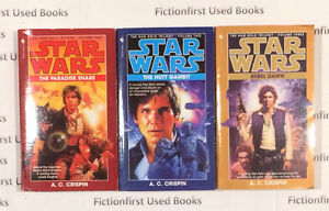 """""""Star Wars: The Han Solo Trilogy"""" by: A.C. Crispin"""
