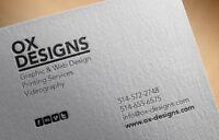 Graphisme: Logos, Cartes d'Affaires, Brochures, Etc.