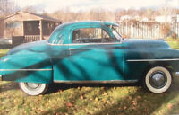 1952 Plymouth Business Coupe for Sale