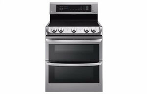 Cuisinière 30'' LG, Stainless, Convection, NEUF!