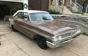 1964 Ford Galaxie 500XL (2 door – hardtop - fastback)