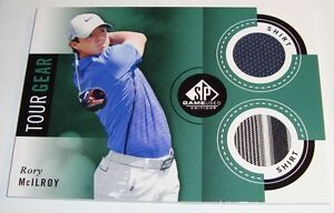 2014 SP Game Used Golf -  Rory McIlroy Tour Gear