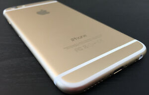 Gold iPhone 6 with Rogers
