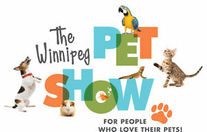 WINNIPEG PET SHOW OCTOBER 21&22,2017 AT RBC CONVENTION CENTRE