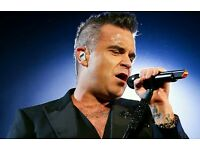 Robbie Williams ETIHAD Saturday 3rd June 2017