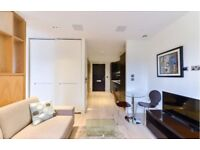 STUNNING STUDIO APARTMENT WITH EXTENSIVE LEISURE FACILITIES IN Roman House, Wood Street, London