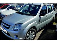 SUZUKI IGNIS 2005 71,000 MILES 1.5 PETROL AUTOMATIC 5 DOOR HATCHBACK SILVER