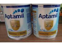 Lactose free Aptamil