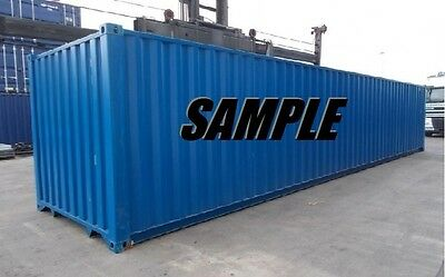 40ft HC Shipping Container Storage Container in Newark, NJ