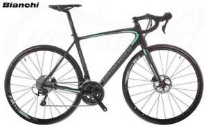 Bianchi Intenso Full Ultegra Disc 2018 Road Bike $5,699 RRP Concord West Canada Bay Area Preview
