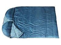Regatta Premium 300GSM Double Envelope Pillow Sleeping Bag.