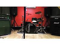 Hard rock drummer