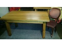 Hardwood Oak dinning table