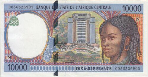 Central African States P. 505Nf Equatorial Guinea 10,000 Francs 2000, EF