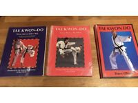 3 x Tae Kwon Do books (for TAGB)