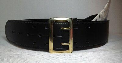 New - Uncle Mikes Mirage Sam Browne Duty Belt Nytek Black Size 32