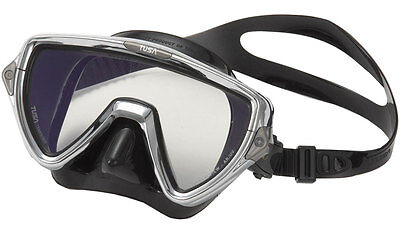 Tusa LIMITED EDITION Visio Pro Dive Mask in Chrome - Crystal View Optical (Vista Optics Limited)