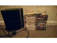 PlayStation 3 With 35 Games