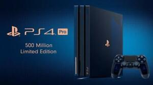 Buy from Store - 500 million Edition PS4 - Sony PlayStation 4 Pro 500 Million 2 TB Console - with Receipt - SEALED