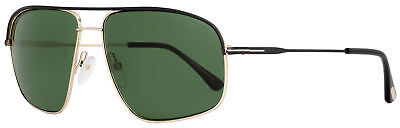 Tom Ford Square Sunglasses TF467 Justin 02N Black/Rose Gold (Tom Ford Square Sunglasses)