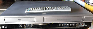 LG DVD/VCR Combo VHS Player Video Cassette Recorder Stanhope Gardens Blacktown Area Preview