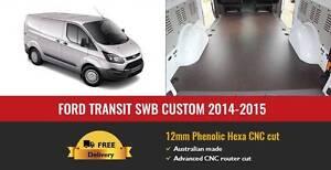 Ford Transit Custom 14+ SWB Van Cargo Flooring 12mm Phenolic Hexa Somersby Gosford Area Preview
