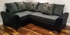 BRAND NEW DQF Reno Corner Sofa 8ft x 6ft. ONLY £499!!