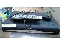 Sky hd box and dish & router
